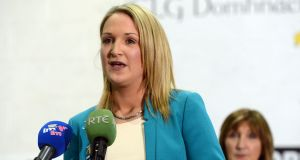 Fine Gael TD Helen McEntee, who launched the Pieta House campaign today. Photograph: Alan Betson/The Irish Times