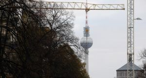 An index compiled by a leading property website suggests prices for new houses and apartments in Berlin rose 10 and 15 per cent respectively last year.  Photograph: Adam Berry/Getty Images