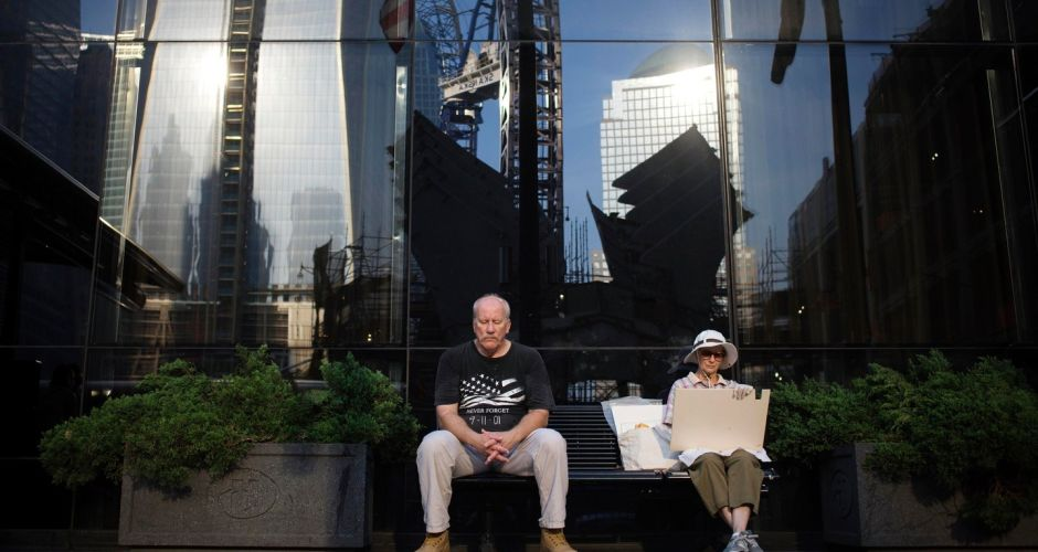 Twelfth anniversary of 9/11 attacks in New York