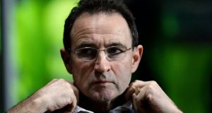 Martin O'Neill (pictured) is known to be interested in the job, as is Roy Keane. Photograph: Reuters