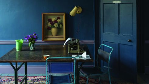 THREE OF THE BEST . . . FOR COUNTY COLOURS: Fly your county colours in style. Dubs supporters should be delighted to know that cool blues are trending this autumn. Stiffkey Blue No 218, an intense navy, is one of Farrow & Ball's (farrow-ball.com) new season shades. Estate Emulsion is €49.50 for 2.5 litres and €84 for five litres.