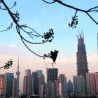 The financial district of Pudong in Shanghai:   China's real estate investment rose 16.7 percent in the first 11 months of 2012 from the same period a year earlier