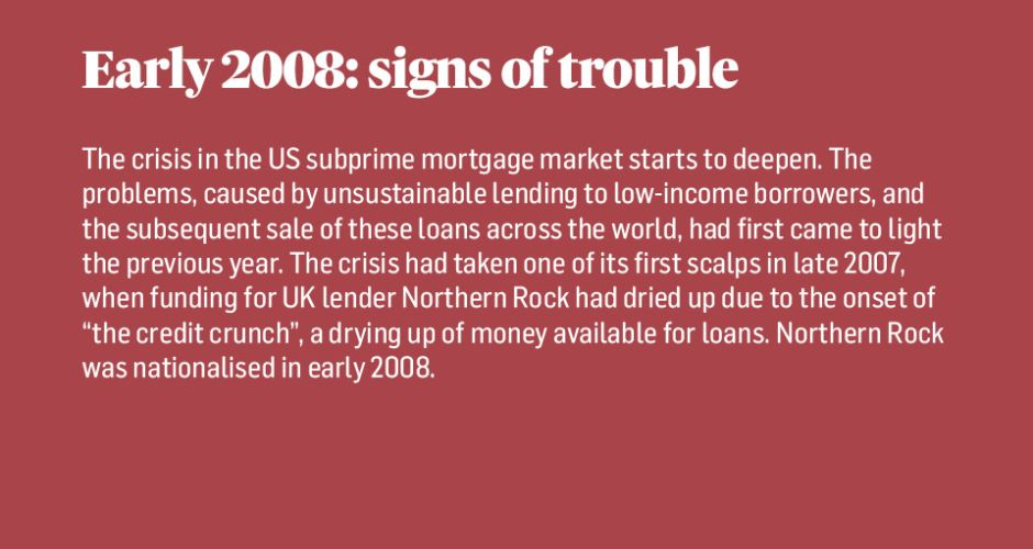 Step-By-Step: a crash course in the global economic crisis