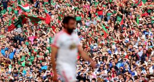Mayo fans will make up a fair proportion of this year's All-Ireland final crowd after assurances that their allocation will be up on last year's decider. Photograph: James Crombie/Inpho