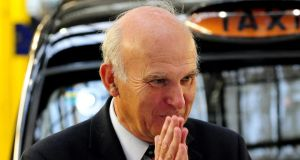 UK business secretary Vince Cable: said there was no evidence that chemicals exported from the UK had been deployed in Syrian weapons programmes. Photograph: Rui Vieira/PA Wire