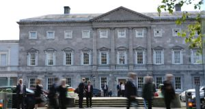 The Oireachtas Committee on Finance, Public Expenditure and Reform is to consider  pre-budget submissions from a range of charitable, interest and lobby groups at Goverment Buildings today.  Photograph: Frank Miller/The Irish Times