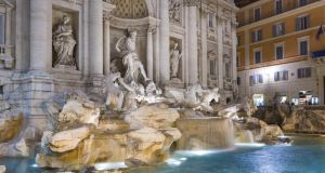 Trevi fountain in Rome. Photograph:  Thinkstock