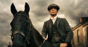 Playing a blinder: Cillian Murphy runs a gangland empire in Birmingham in Peaky Blinders