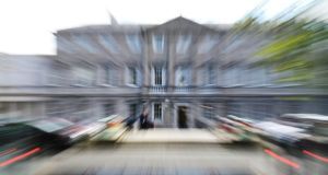 "Leinster House – ""the role of Seanad Éireann is unclear and its composition and electoral process are utterly unintelligible to most people"". Photograph: Frank Miller"