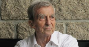 Fr Joseph Mallin, who celebrates his 100th birthday, in Hong Kong, today.