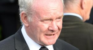 Sinn Fein's Martin McGuinness: said next week's talks were 'a real and genuine effort' by all parties to 'try and crack these very difficult nuts'.