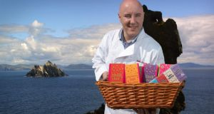 Colm Healy of the Skelligs Chocolate Company