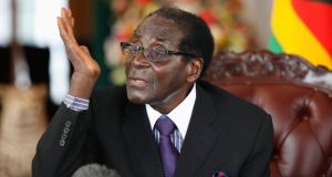 Zimbabwean president Robert Mugabe: has indicated he intends seeing out his new five-year term as president, which will be his seventh. Photograph: Philimon Bulawayo