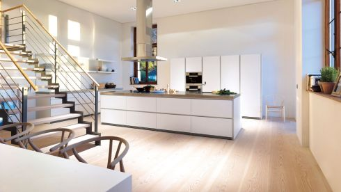 Bulthaup Kitchen, from €25,000, McNally Showrooms, Ballsbridge, Dublin.