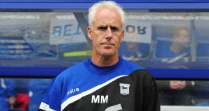 Mick McCarthy: The Ipswich manager says Martin O'Neill is a 'shoo-in' to be appointed. Photograph: Alex Broadway/Getty Images
