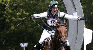 Ireland's Aoife Clark won the Fidelity Blenheim Palace International Horse Trials in Oxfordshire. Photograph: Eddie Keogh/Reuters