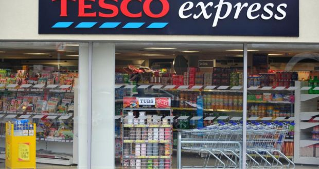 Tesco will open five new Tesco Express stores around the country before Christmas. Photograph: Aidan Crawley