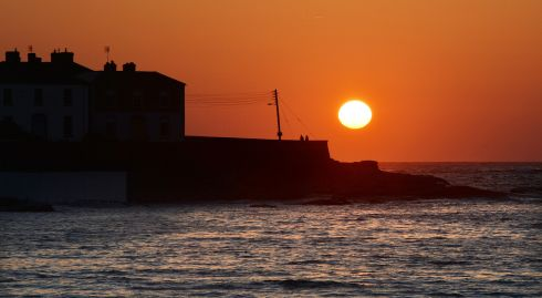 It's not some cliche from a Vietnam movie. It's Kilkee, Co Clare, on the Loop Head peninsula. Photograph: Alan Betson/The Irish Times