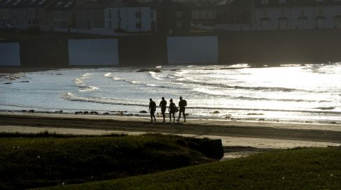 Perfection at the Kilkee seafront. Photograph: Alan Betson/The Irish Times