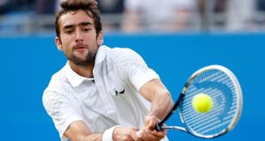 Marin Cilic has been suspended for nine months after testing positive for a banned stimulant, ruling him out until February 1st, 2014.