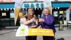 Susan Barry and Jan Quinn of the MACE store in Beaumont  that sold the €94 million lotto ticket in July. The lottery licence is currently up for tender