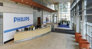 Philips this morning  announced plans to return €1.5 billion to shareholders. Photo: Bloomberg