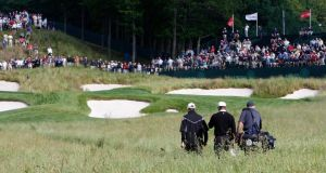 The Bethpage Black course will host both the 2019 US PGA Championships and the 2024 Ryder Cup. Photograph:John Sommers II/Reuters