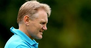 New Ireland head coach Joe Schmidt.