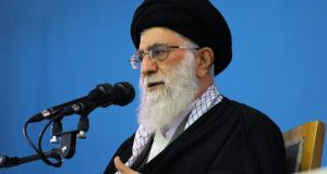 """I am not opposed to proper moves in diplomacy, and I still believe in what I named years ago as champion's leniency,"" says Iran's supreme leader Ayatollah Ali Khamenei. Photograph: Reuters"