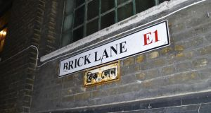As many as 2,000 homes, office buildings, stores and leisure facilities may be developed on the site near Brick Lane and Shoreditch. Photograph: BJ Scantlebury