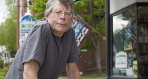 Stephen King in Bridgton, Maine