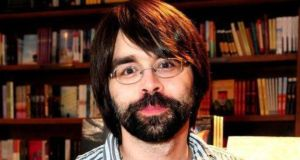 Writer Joe Hill, Stephen King's son