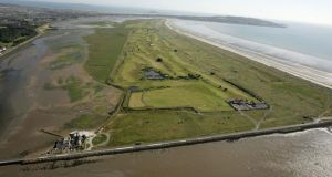 Bull Island photographed from the air. Photograph: Frank Miller /	THE IRISH TIMES