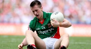 The fitness of  Cillian O'Connor remains problematic for Mayo. Photograph: James Crombie/Inpho