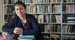 'Let's not panic just yet': Anne Enright, who won the Booker in 2007 for 'The Gathering'.  Photograph: Matt Kavanagh
