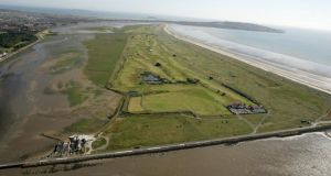 Bull Island: Dublin Port Company proposes to transfer 10.5 hectares of land on the western side of the island beside the North Bull Wall adjacent to the Royal Dublin Golf Club to Dublin City Council. Photograph: Frank Miller