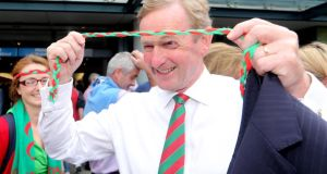 Enda shows his true colours