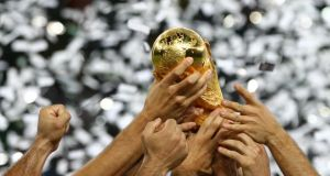 The 2022 World Cup in Qatar is set to be moved to a winter slot.  Photograph: Kai Pfaffenbach/Reuters