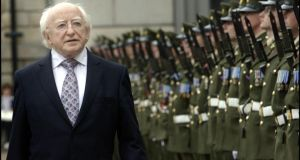 President Michael D Higgins: he might have been expected to understand the limitations of the role of president and, more specifically, not to use it as a platform to advance a political agenda