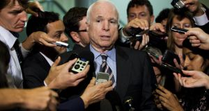 US senator John McCain has lambasted Russia's president Vladimir Putin in an excoriating attack, accusing him of supporting tyrants and encouraging corruption