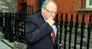 Dublin solicitor Greg O'Neill who was found guilty of several counts of professional misconduct. Photograph: Dave Meehan