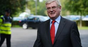 Labour leader Eamon Gilmore: should go before local elections