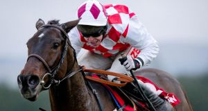 Flemenstar and jockey Andrew Lynch on the way to winning the John Durkan Memorial Punchestown Chase in 2012. Photograph: Morgan Treacy/Inpho