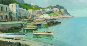 'Isle of Capri' by Robert Taylor Carson (€3,000-€4,000)