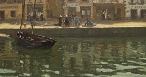 'A French Quayside' by William John Leech, €80,000- €120,000