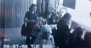 Missing: the last known image, from CCTV in Newbridge, of Deirdre Jacob