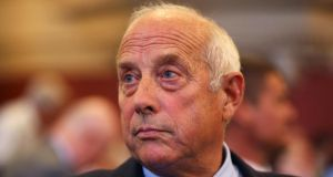 "UKIP MEP Godfrey Bloom, who yesterday told women party members gathered in Westminster's Central Methodist Hall that they were ""all sluts"" if they didn't ""clean behind the fridge"". Photograph: Getty Images"