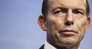 Australia's new prime minister Tony Abbott . (Photo by Stefan Postles/Getty Images)