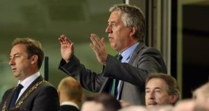 FAI chief executive John Delaney hopes Ireland can host four games.  Photograph: Cathal Noonan/Inpho