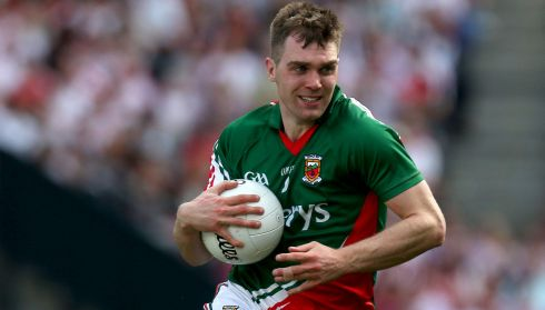 "9. SEAMUS O'SHEA  Club: Breaffy Age: 26 Height: 6' 2"" Weight: 14st 13lbs  Has a very good understanding with his brother and puts in a heap of unselfish work. Did a fine job on Seán Cavanagh and will probably be asked to do the same on Macauley - one of Mayo's most significant tasks."